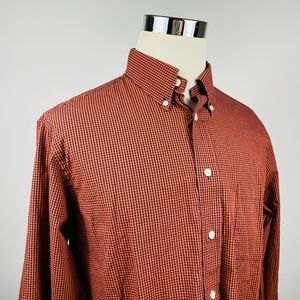Brooks Brothers Mens Large Regent Shirt Check